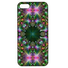 Digital Kaleidoscope Apple Iphone 5 Hardshell Case With Stand by Simbadda