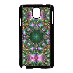 Digital Kaleidoscope Samsung Galaxy Note 3 Neo Hardshell Case (black) by Simbadda