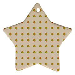 Pattern Background Retro Ornament (star) by Simbadda