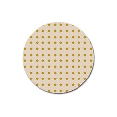 Pattern Background Retro Magnet 3  (round) by Simbadda