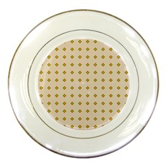 Pattern Background Retro Porcelain Plates by Simbadda