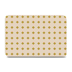 Pattern Background Retro Plate Mats by Simbadda