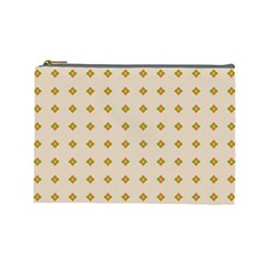 Pattern Background Retro Cosmetic Bag (large)  by Simbadda