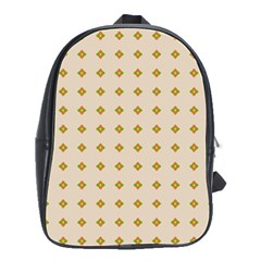 Pattern Background Retro School Bags(large)