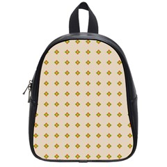 Pattern Background Retro School Bags (small)