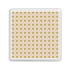 Pattern Background Retro Memory Card Reader (square)