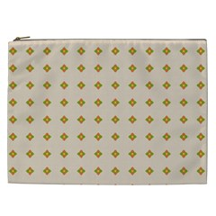 Pattern Background Retro Cosmetic Bag (xxl)  by Simbadda
