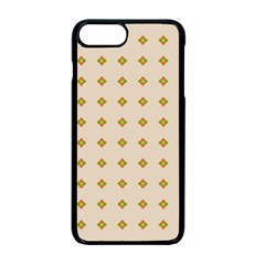 Pattern Background Retro Apple Iphone 7 Plus Seamless Case (black) by Simbadda
