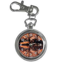 Aurora Sunset Sun Landscape Key Chain Watches by Simbadda