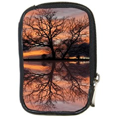 Aurora Sunset Sun Landscape Compact Camera Cases by Simbadda