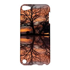 Aurora Sunset Sun Landscape Apple Ipod Touch 5 Hardshell Case by Simbadda
