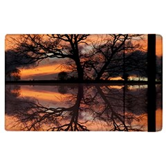 Aurora Sunset Sun Landscape Apple Ipad 2 Flip Case by Simbadda
