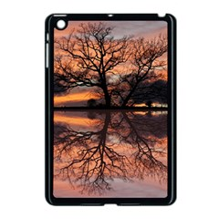 Aurora Sunset Sun Landscape Apple Ipad Mini Case (black)