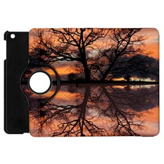 Aurora Sunset Sun Landscape Apple Ipad Mini Flip 360 Case by Simbadda