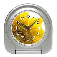 Plant Nature Leaf Flower Season Travel Alarm Clocks by Simbadda