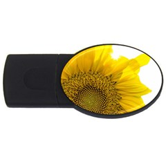 Plant Nature Leaf Flower Season Usb Flash Drive Oval (4 Gb) by Simbadda