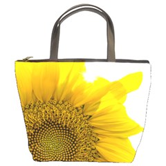 Plant Nature Leaf Flower Season Bucket Bags by Simbadda