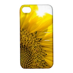 Plant Nature Leaf Flower Season Apple Iphone 4/4s Hardshell Case With Stand by Simbadda