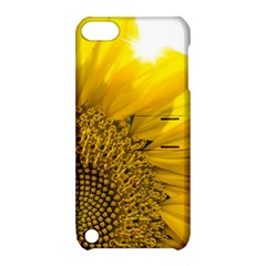 Plant Nature Leaf Flower Season Apple Ipod Touch 5 Hardshell Case With Stand by Simbadda