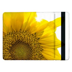 Plant Nature Leaf Flower Season Samsung Galaxy Tab Pro 12 2  Flip Case by Simbadda