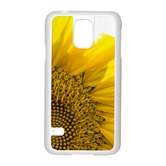 Plant Nature Leaf Flower Season Samsung Galaxy S5 Case (white) by Simbadda