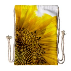 Plant Nature Leaf Flower Season Drawstring Bag (large) by Simbadda