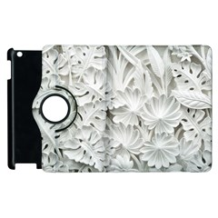 Pattern Motif Decor Apple Ipad 3/4 Flip 360 Case by Simbadda