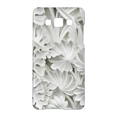 Pattern Motif Decor Samsung Galaxy A5 Hardshell Case  by Simbadda