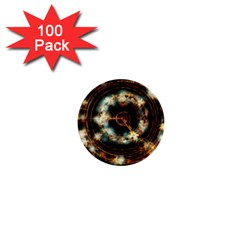 Science Fiction Energy Background 1  Mini Buttons (100 Pack)  by Simbadda
