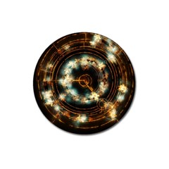 Science Fiction Energy Background Magnet 3  (round) by Simbadda