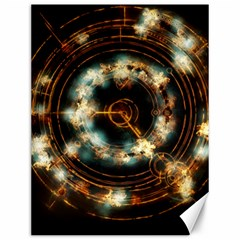 Science Fiction Energy Background Canvas 12  X 16   by Simbadda