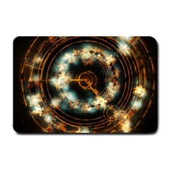Science Fiction Energy Background Small Doormat  by Simbadda