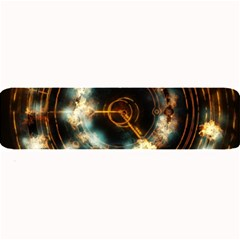 Science Fiction Energy Background Large Bar Mats by Simbadda