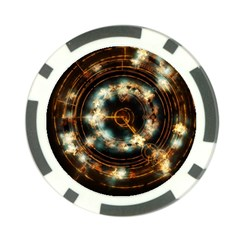 Science Fiction Energy Background Poker Chip Card Guard by Simbadda