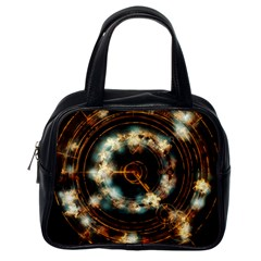 Science Fiction Energy Background Classic Handbags (one Side) by Simbadda