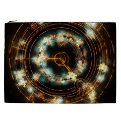 Science Fiction Energy Background Cosmetic Bag (xxl)  by Simbadda