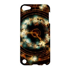 Science Fiction Energy Background Apple Ipod Touch 5 Hardshell Case by Simbadda