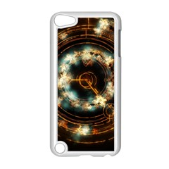 Science Fiction Energy Background Apple Ipod Touch 5 Case (white) by Simbadda