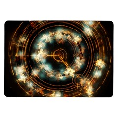 Science Fiction Energy Background Samsung Galaxy Tab 10 1  P7500 Flip Case by Simbadda