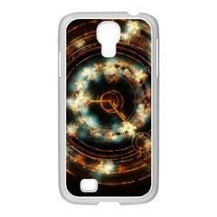 Science Fiction Energy Background Samsung Galaxy S4 I9500/ I9505 Case (white) by Simbadda
