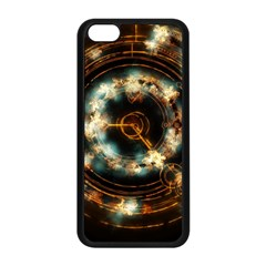 Science Fiction Energy Background Apple Iphone 5c Seamless Case (black) by Simbadda