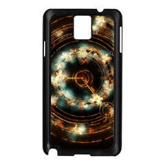Science Fiction Energy Background Samsung Galaxy Note 3 N9005 Case (black) by Simbadda