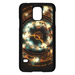 Science Fiction Energy Background Samsung Galaxy S5 Case (black)
