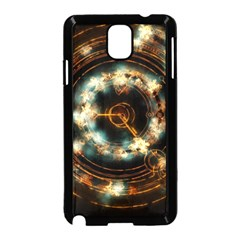 Science Fiction Energy Background Samsung Galaxy Note 3 Neo Hardshell Case (black) by Simbadda