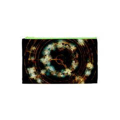 Science Fiction Energy Background Cosmetic Bag (xs)