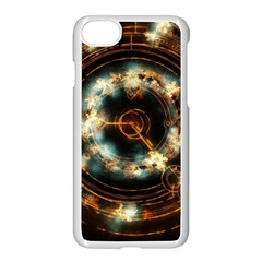 Science Fiction Energy Background Apple Iphone 7 Seamless Case (white) by Simbadda