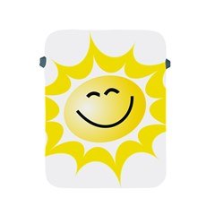 The Sun A Smile The Rays Yellow Apple Ipad 2/3/4 Protective Soft Cases