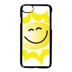 The Sun A Smile The Rays Yellow Apple Iphone 7 Seamless Case (black) by Simbadda