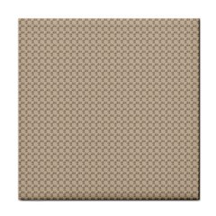Pattern Ornament Brown Background Face Towel