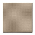 Pattern Ornament Brown Background Face Towel Front